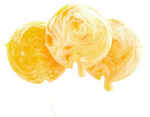 Vanilla Orange - Cremesicle Lollipop - handmade candy for childrens events