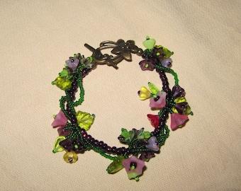 Flowering Vine Bracelet