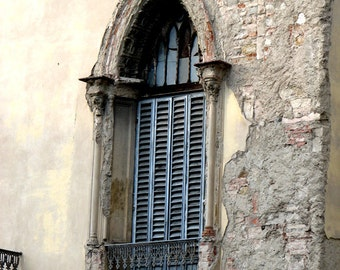 "Shutters on Window in Florence Italy (8"" x 10"" photograph)"