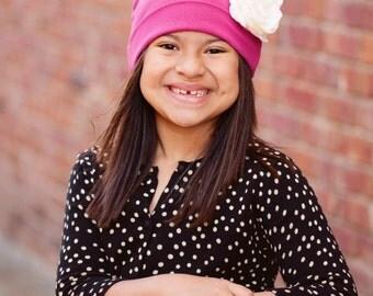 Boutique Style Children's Cancer Cotton Knit Hat