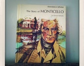 iPad or Kindle 2 cover made from Vintage hardback book - the Story of Monticello