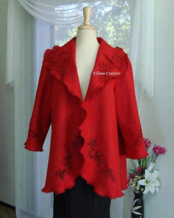 Vintage Style Swing Jacket. Beautiful Retro Inspired Light Coat.