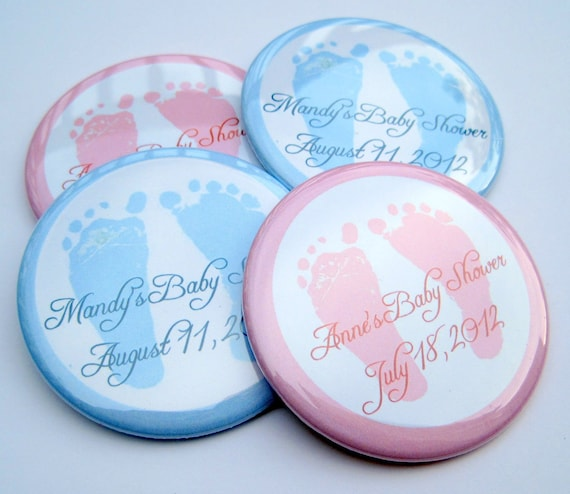items similar to baby shower favors baby feet 30 personalized