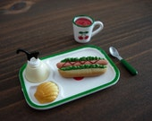 Japanese Miniatures - Hot dog Set