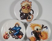 Ghost Rider Magnet Set (1.25 inch)