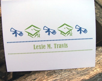 Graduation Personalized Thank You Notecards