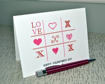 Valentine's Day Cards / Happy Valentine's Day Cards / Classroom Cards / Set of Valentine's Day Stationery