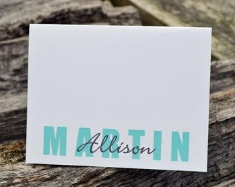 Personalized Stationery / Personalized Stationary / Family Stationery / Family Notes/ Stationery Set / Custom Stationary / Family Note Cards
