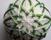 Shades of Green Temari
