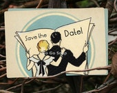 100 Art Deco Save the Date Wedding Cards Custom for you