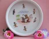 Antique Jumbo Elephant   Bath time Childrens Bowl   Made In Germany