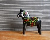 A Black Dala Horse from Sweden