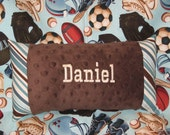 Shopping Cart Cover Reversible Play Ball with Minky on back Free Personalization
