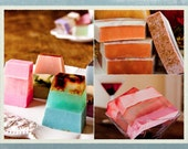 2 Hand-Crafted soaps
