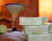 Lime Margarita Salt Bar, Hand-Crafted Soap Mexican Cocktail Cinco De Mayo Citrus Nightlife