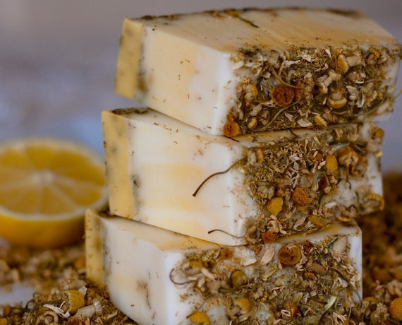 Lemon Chamomile Hand-Crafted Soap