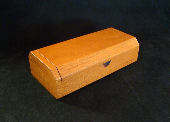 Mahogany Eyeglass Case