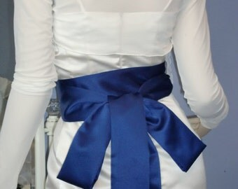 Bridal Sash Made to Order Satin Sash in Your Bridal Colours SAMPLE SALE