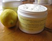Lemon Body Butter, 8oz - All Natural