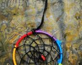 Rainbow Hoop Unity Bracelet Dreamcatcher