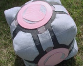 Portal 2 Weighted Companion Cube Plush - Life Size