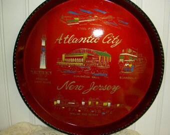 Atlantic City Souvenir Tray UNDER 20