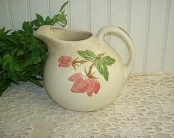 Continental Kilns Green Arbor Ball Pitcher