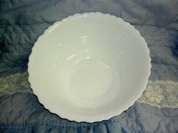 French Milk Glass Bowl