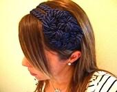 15% OFF navy nautical knot headband