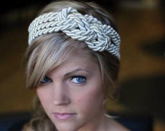IVORY Large sailor knot headband