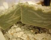 TRYME Mermaid's Trove Sea Clay Soap with Tukuma Butter