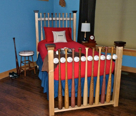 Solid Hardwood Twin Bed