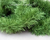 Green Grassy Baby Photo Prop in Shady Glade colors