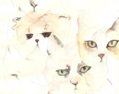 ON SALE - CATS Print