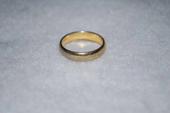 Vintage Karatclad 18KT H.G.E. ESPO Ring Size 7