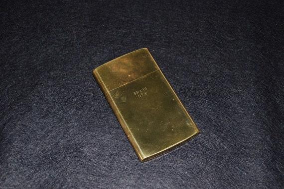 Vintage Brass Chas Kennedy Slim Cigarette Case