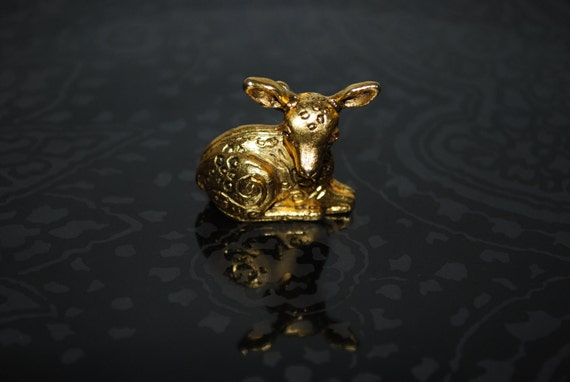 Vintage Max Factor Deer Perfume Locket