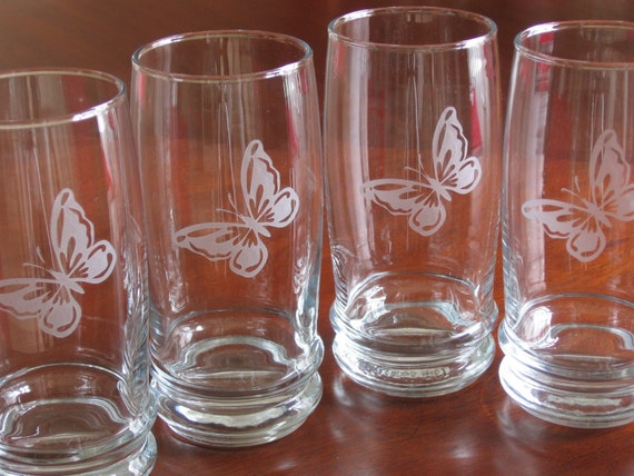 Saturn Drinking Glass Set, CLEARANCE ITEM