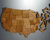 Interstate Map Puzzle - Long Leaf Pine