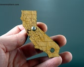 California Pipe with County Lines - Beech