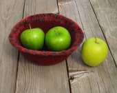 Medium Felted Harvest Bowl, Ready to Ship, Handmade by The Land of G on Etsy