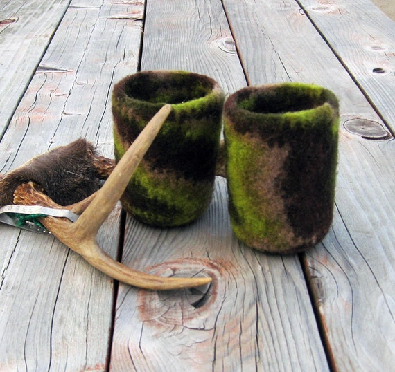 Camouflage Can Cozy, Handmade by The Land of G on Etsy