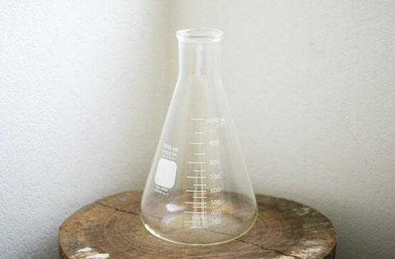 Vintage Large Pyrex No. 4980 Erlenmeyer Flask