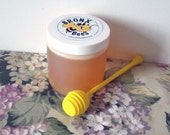 "100% RAW Natural OrganicLIGHT ""FLOWER POWER"" Honey/Bronx Bees"