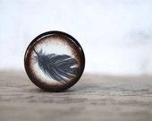 Feather Pill Box -  gift - Gift Box - Stocking Stuffers