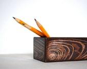Faux Wood Grain Pencil Box