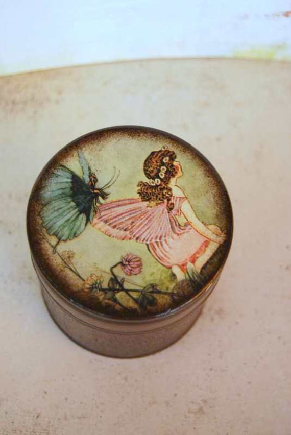 Woodland Fairy Wood Box