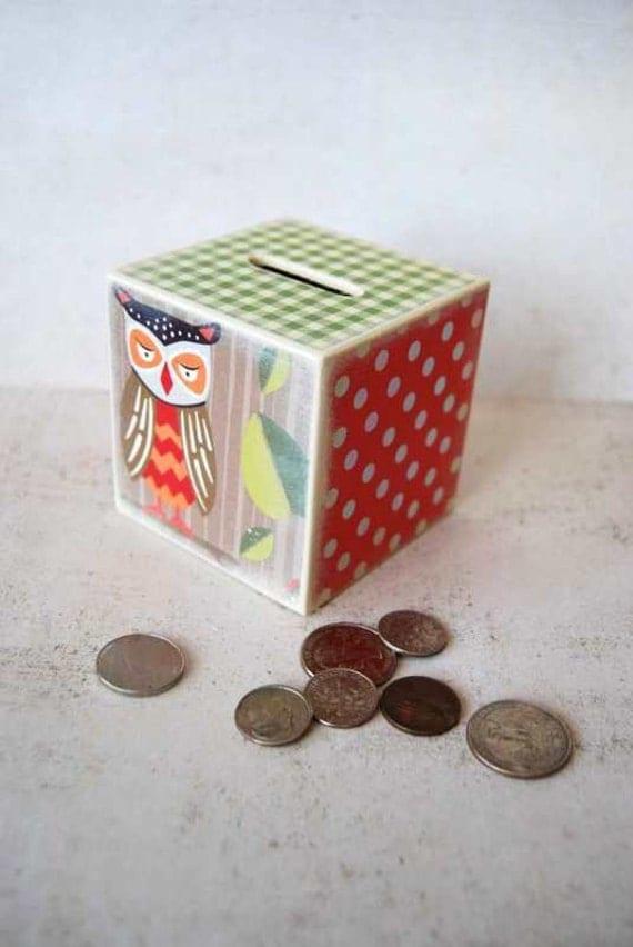 Owl Piggy Bank - My First Piggy Bank