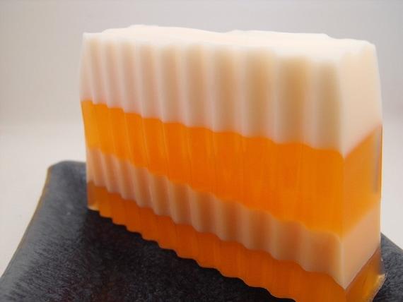 50% OFF SALE Striped Soap (Amber)