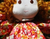 Retro Flower Print Doll Dress